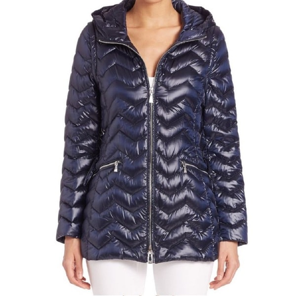 Dawn Levy Cleo Blue Packable Down Puffer Vest