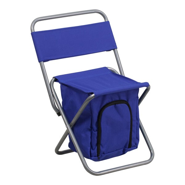 Offex Folding Children Camping Chair with Insulated Storage