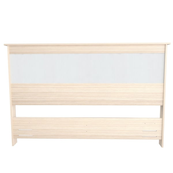 Inval Laricina-White and Beech Headboard