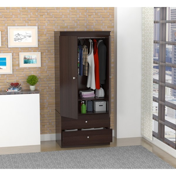 Wardrobes armoires house home for Armoire penderie wenge