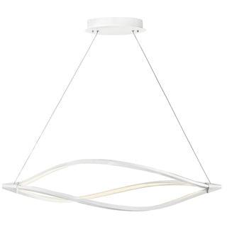 Kichler Lighting Contemporary 1-light White LED Island Pendant