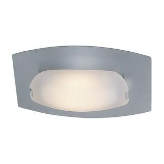 Access Lighting Nido 1-light Matte Chrome Flush/ Wall Mount