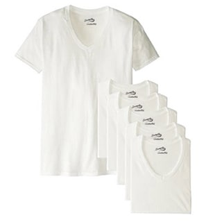 Men's V-Neck T-Shirt (Pack of 6)