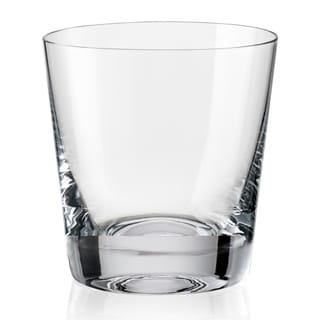 Red Vanilla Jive Double Old Fashioned Glass (Set of 6)