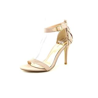 Famous Name Brand Women's 'Exaggeration' Satin Sandals