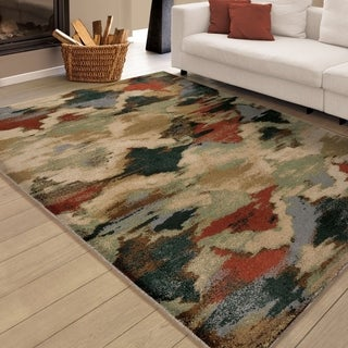 Carolina Weavers Insanely Soft Jester Multi Area Rug (5'3 x 7'6)