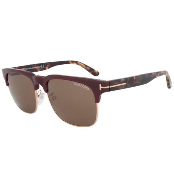 Tom Ford TF386 70J Louis Square Sunglasses