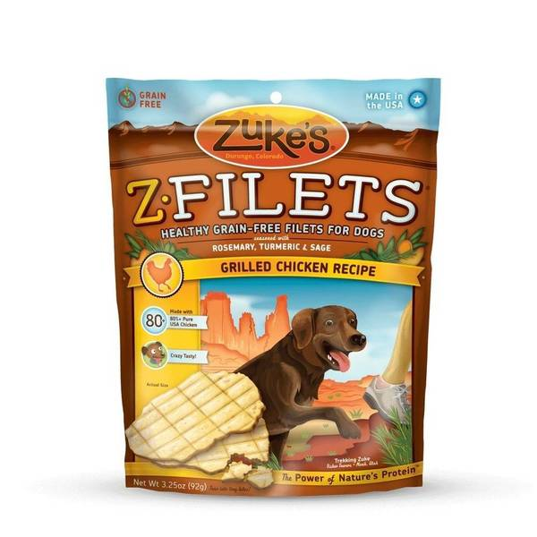 Zuke's Z-Filets Select Grain Free Dog Treat
