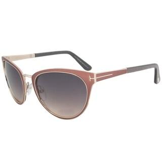Tom Ford FT0373 74B Nina Cateye Sunglasses