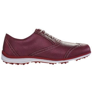 FootJoy LoPro Casual Golf Shoes 2015 Ladies CLOSEOUT Red