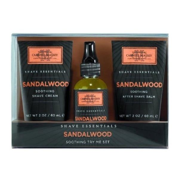 Caswell Massey Soothing Sandalwood 3-piece Set