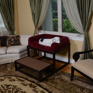 Lacey's Lookout Large Espresso Pet Window Seat