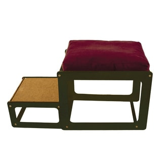 Lacey's Lookout Small Espresso Window Seat Pet Furniture