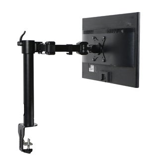 Dual Arm Articulating Monitor Desk Mount For 27 Inch