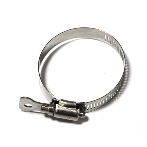 Taze Worm Drive Hose Clamp with Thumb Screw/ Worm Drive with 1/2-inch Band Width (Pack of 10)