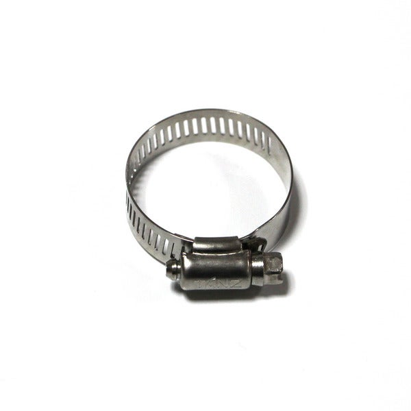Taze American Type Hose Clamp/ Worm Drive with 1/2-inch Band Width (Pack of 10)