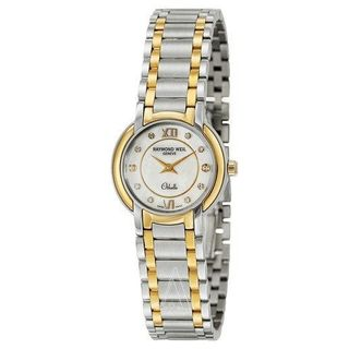 Raymond Weil Women's 2320-STG-00985 'Othello' Diamond Two-Tone Stainless Steel Watch