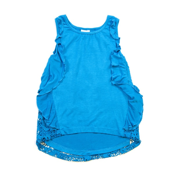 Girls' Pull-over Tank with Detailed Sides 18096279