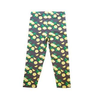 Girls' Fashion Printed Capri Legging