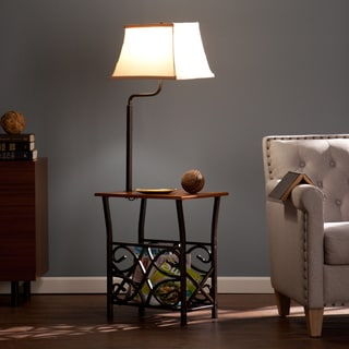 Upton Home Miller Floor Lamp Table
