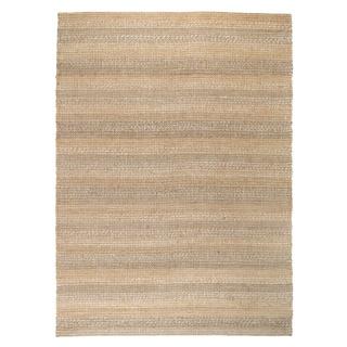 Kosas Home Handcrafted Cali Natural and Grey Rug (8' x 10')