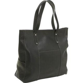 Le Donne Leather Large Slip Pocket Tote Bag