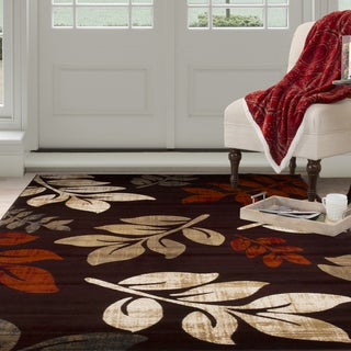 Windsor Home Opus Falling Leaves Area Rug (8' x 10')