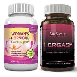 Totally Products Hergasm-Advanced Female Libido Virility Enhancement (2 Bottles of 60 Capsules)