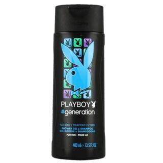 Playboy Generation 13.5-ounce Shower Gel and Shampoo