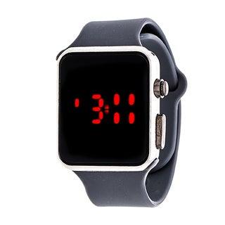 Zunammy Men's Sport Digital with Grey Rubber Strap Watch