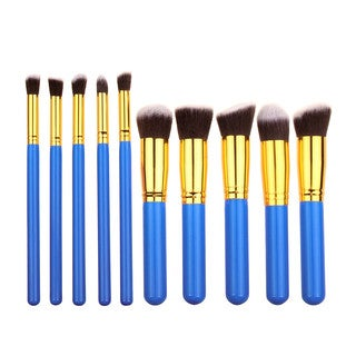 Bliss and Grace Professional 10-piece Kabuki Brush Set