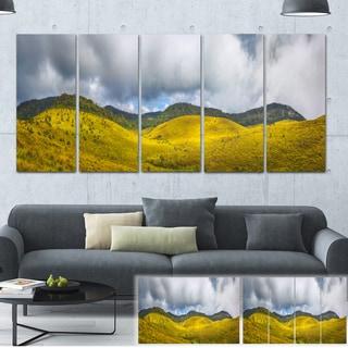 Designart 'The Horton Plains' Landscape Painting Canvas Print
