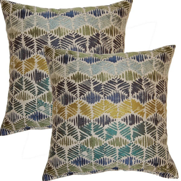 Prisma Everglade 17-inch Throw Pillows (Set of 2)