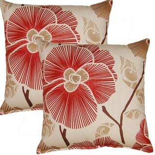 Zara 17-inch Throw Pillows (Set of 2)