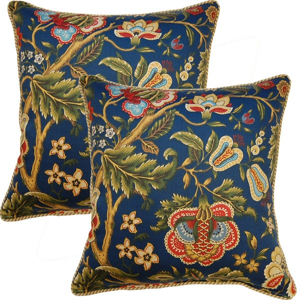 Imperial Dress 17-inch Throw Pillows (Set of 2)