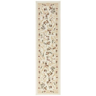 Home Dynamix Optimum Collection Beige Polypropylene Machine Made Area Rug Runner (1'9 x 7'2)