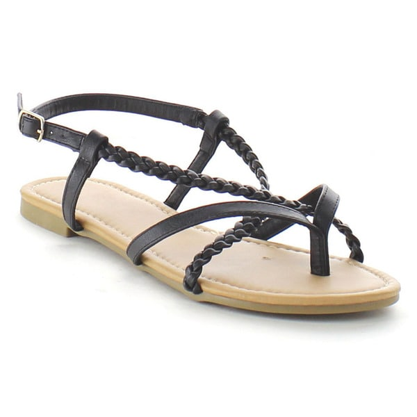 Beston Strappy Flat Sandals