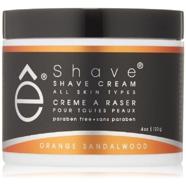 eShave Orange Sandalwood 4-ounce Shaving Cream