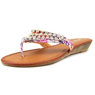 r.b.l.s. Women's 'Abba' Multi-color Synthetic Sandals