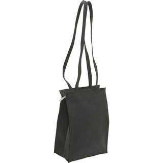 LeDonne Leather Zip-Top Tote Bag
