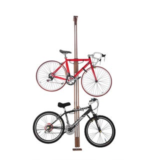 RAD Cycle Woody Bike Stand Bicycle Rack Storage or Display Holds Two Bicycles