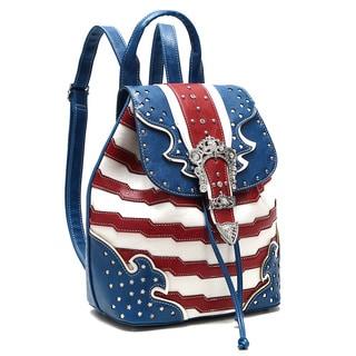 Dasein Rhinestone Studded Backpack