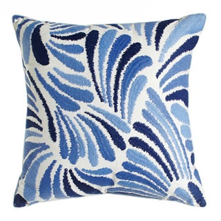 Darby Embroidered Square Decorative Throw Pillow