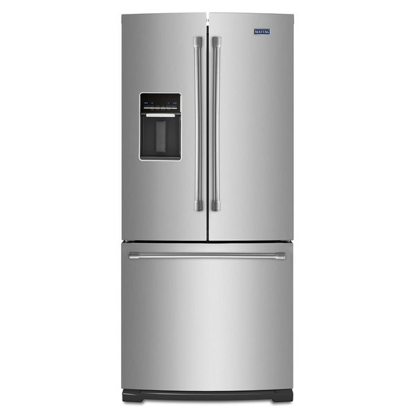 Maytag heritage series 19 7 cubic foot french door for 19 5 cu ft french door refrigerator