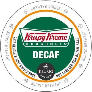 Krispy Kreme Decaf K-Cup Portion Pack for Keurig Brewers