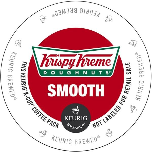 Krispy Kreme Smooth K-Cup Portion Pack for Keurig Brewers 18102118