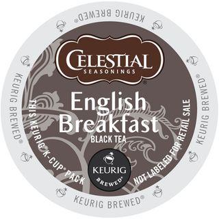 Celestial Seasonings English Breakfast Black Tea K-Cup Portion Pack for Keurig Brewers