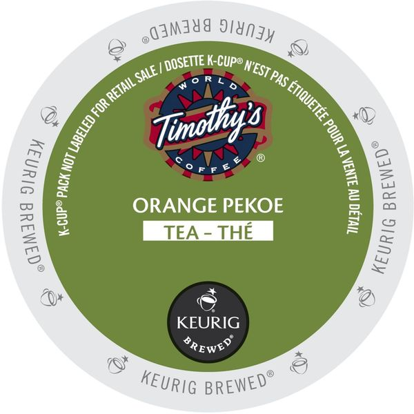 Timothy's Orange Pekoe K-Cup Portion Pack for Keurig Brewers 18102547