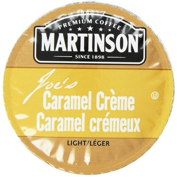 Martinson Coffee Caramel Creme K-Cup Portion Pack for Keurig Brewers 18102633