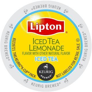 Lipton Iced Tea Lemonade K-Cup Portion Pack for Keurig Brewers